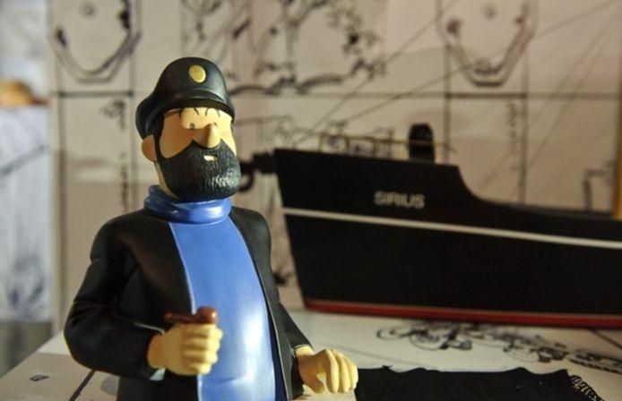 Le Capitaine Haddock souffle ses 80 bougies le 9 janvier prochain.