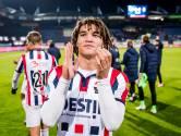 Van den Bogert dolgelukkig met debuut bij Willem II: 'Hoorde dat ze me toezongen'