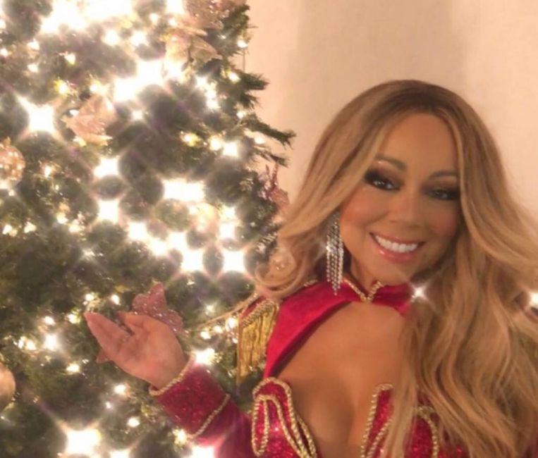 Mariah Carey op Instagram.