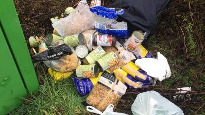 Opvallende sluikstort: voedingsproducten van OCMW weggegooid
