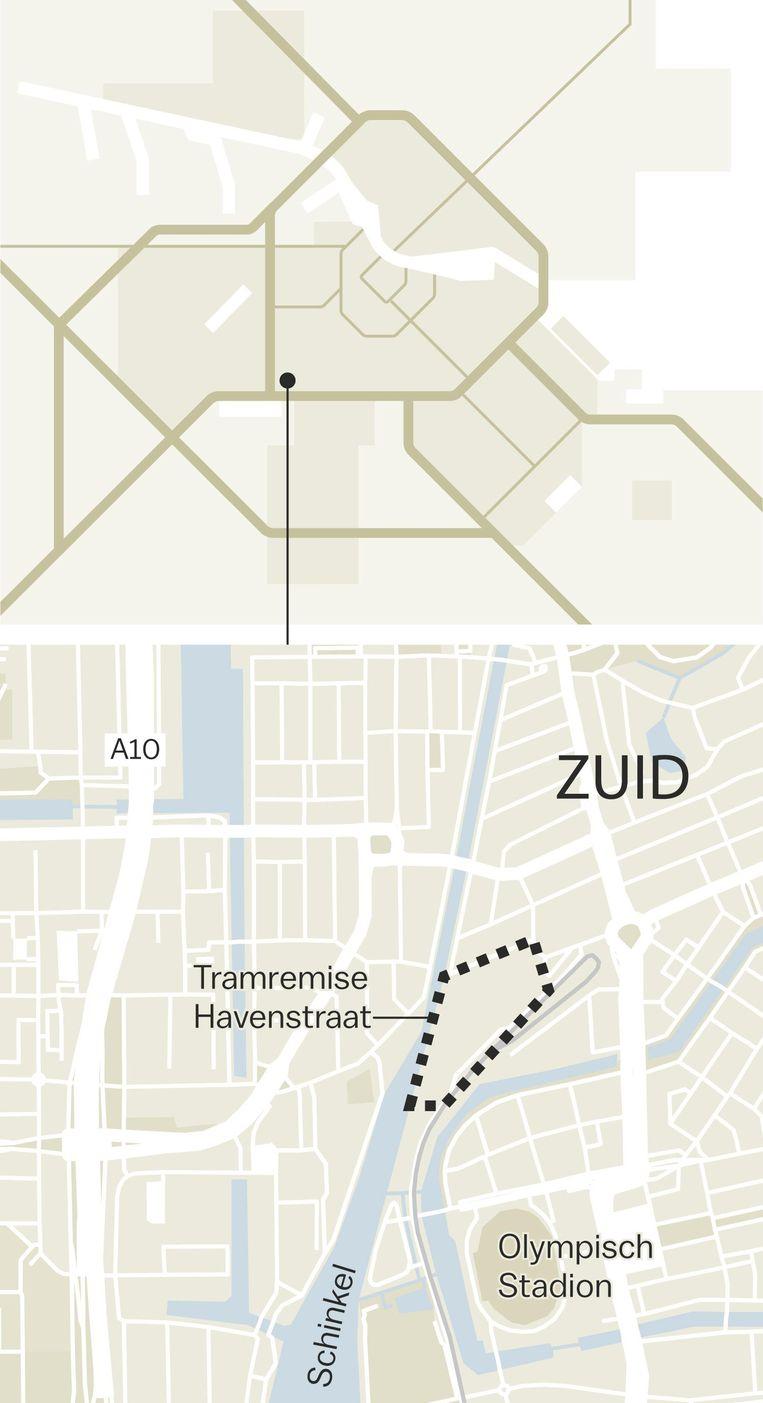 Over het bouwen van woningen op de plek van de tramremise wordt al decennia gesproken Beeld Laura Van Der Bijl