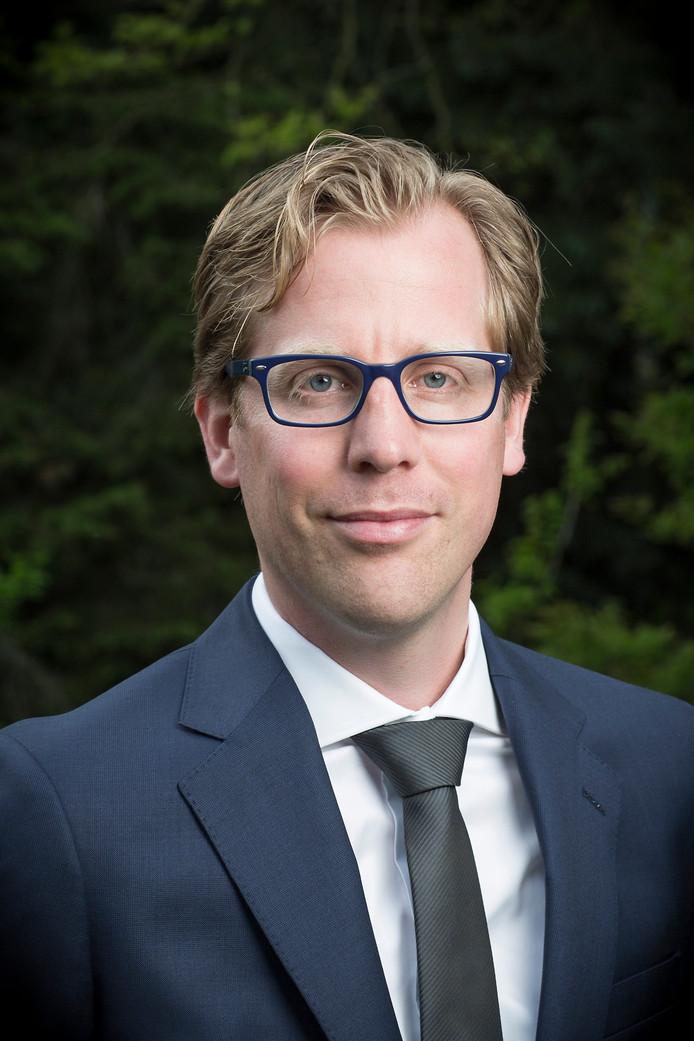 Gedeputeerde Christophe van der Maat (VVD).