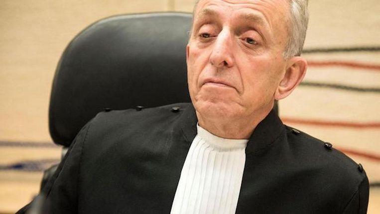 Rechtbankvoorzitter Frank Wieland Beeld anp