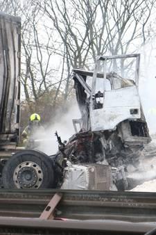 A29 bij Haringvlietbrug voorlopig dicht na fatale botsing