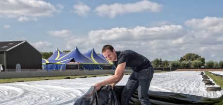KPJ Halsteren klaar voor jaarlijkse tractorpulling