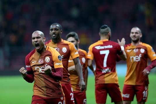 Nigel de Jong meldde zich afgelopen zomer eveneens bij Galatasaray.