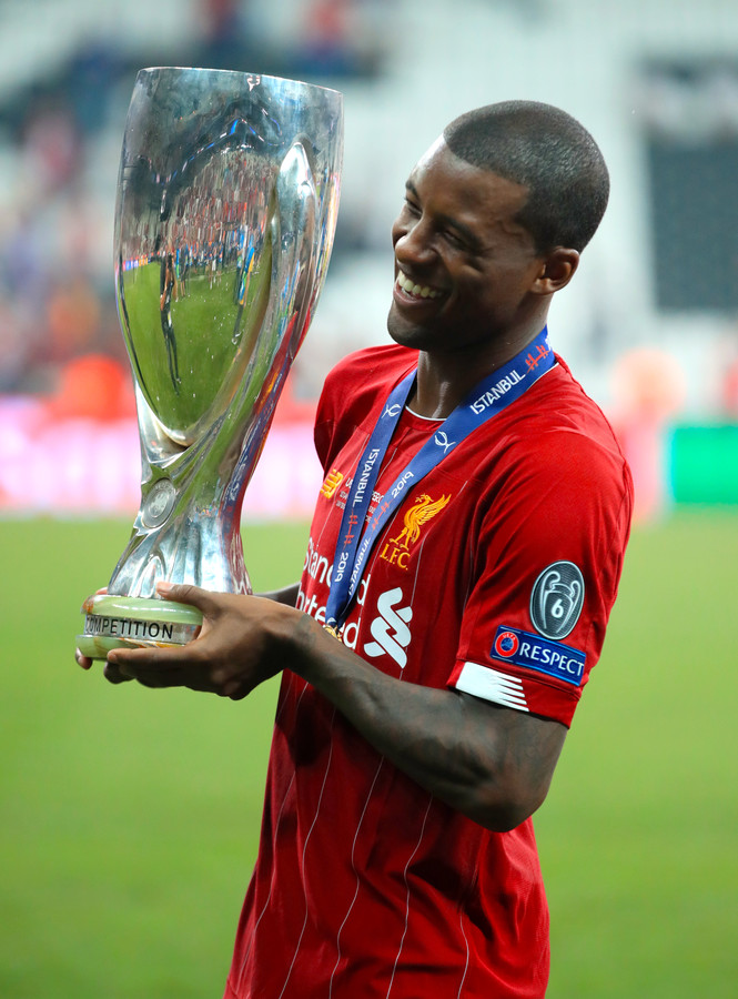 In 2019 won Georginio Wijnaldum met Liverpool de Europese Super Cup.