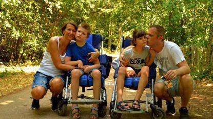 Met fiets naar Compostella voor gehandicapte tweeling