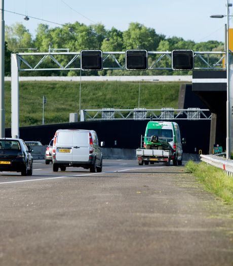 Wegwerkzaamheden A29: Heinenoordtunnel nacht dicht