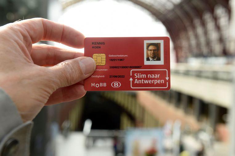 De City Pass werd begin oktober voorgesteld in Antwerpen-Centraal.