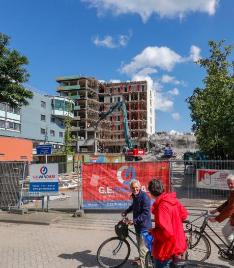 Sloop universiteitsgebouw Biotechnion op De Dreijen stil gelegd na meldingen overlast