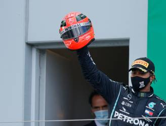 Nummer 91: Lewis Hamilton hijst zich met zege op Nürburgring naast Michael Schumacher