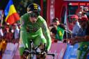 Primoz Roglic legde de basis voor zijn eindzege in de Vuelta met een uitstekende tijdrit.
