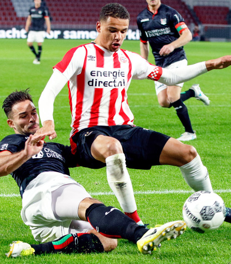 Jong PSV is toe aan zege en hoopt die te pakken tegen RKC