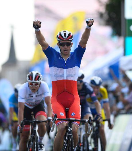 Martijn Budding uit Veenendaal sprint naar negende plek in Ronde van Luxemburg