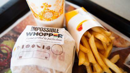Burger King test veganistische hamburger die smaakt zoals een echte Whopper