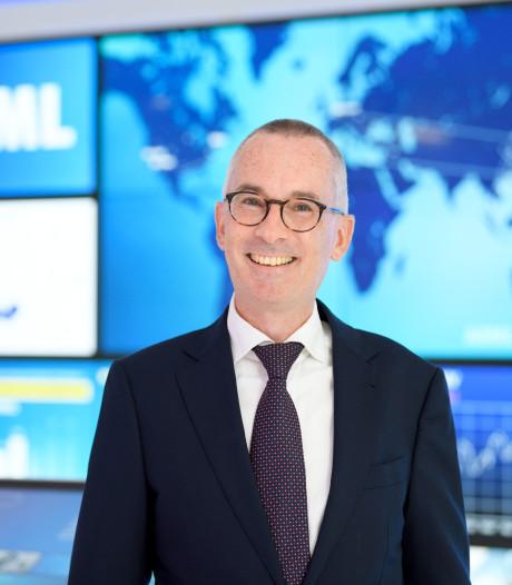 Roger Dassen van ASML bedankt iedereen voor 20 jaar vertrouwen in EUV