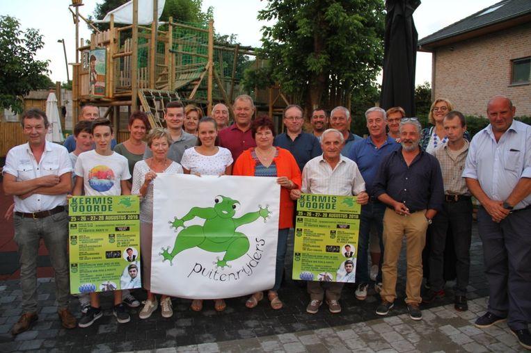 De Puitenrijders, de organisatoren van kermis Voorde.