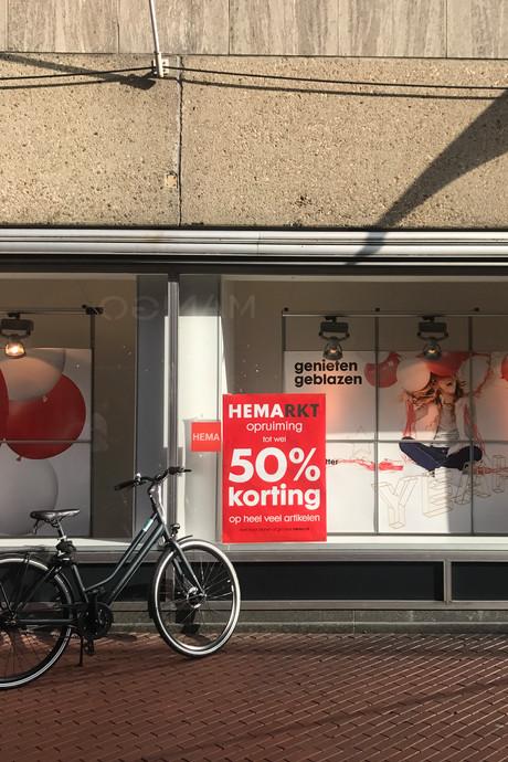 Uitverkoop gaat in de uitverkoop in Eindhoven