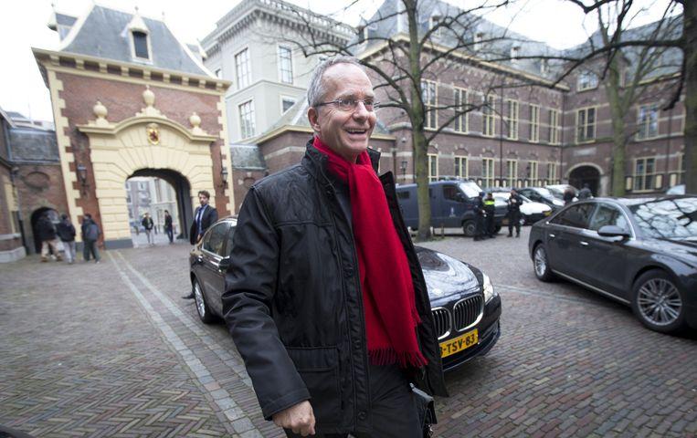 Minister Henk Kamp. Beeld null