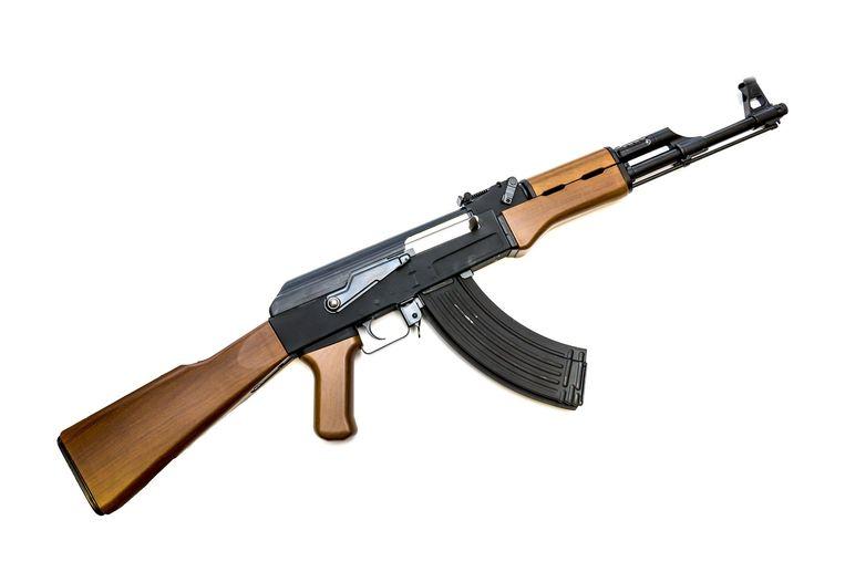 Een AK-47.