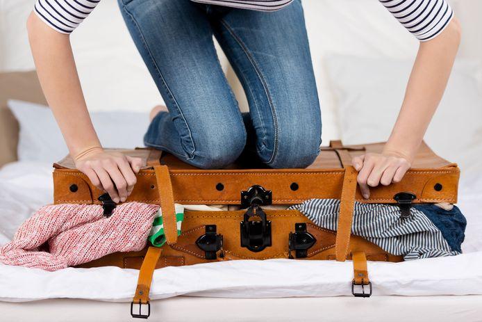 Foto ter illustratie. Vakantie kan ook juist zorgen voor stress.