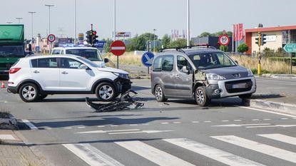 Ongeval A12: Gezin crasht op weg naar zee