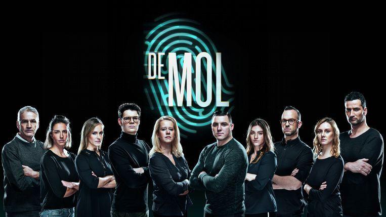 De mol groepsfoto