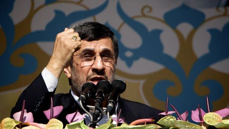 Ahmadinejad Beeld afp