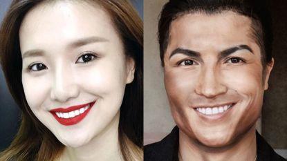 Van Cristiano Ronaldo tot Taylor Swift: Chinese visagiste kan er wat van