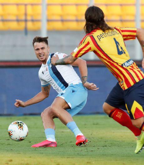 Krankzinnig moment bij Lazio: Spanjaard Patric bijt zijn tegenstander