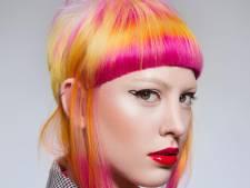Michelle (35) uit Doornspijk kan beste kleurkapper van de wereld worden