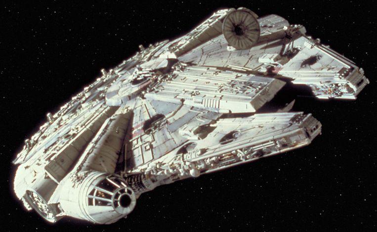 De Millennium Falcon uit Star Wars