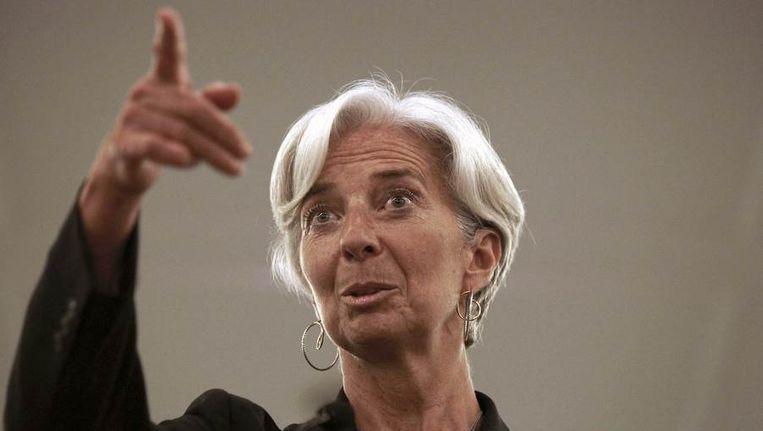 Lagarde. Beeld reuters