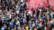 Dat gaat wat worden: al duizenden fans in centrum Rotterdam voor huldiging Feyenoord
