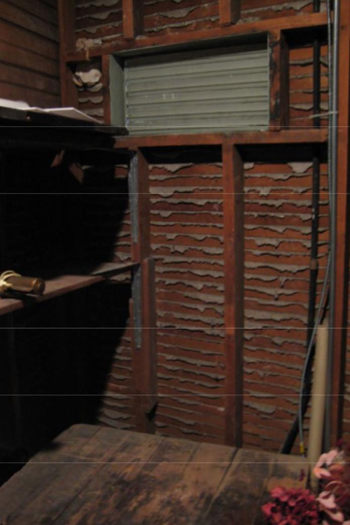 Het magazijn in Iowa waar het miljoenenwerk van de Hollandse meester Otto van Veen werd gevonden.