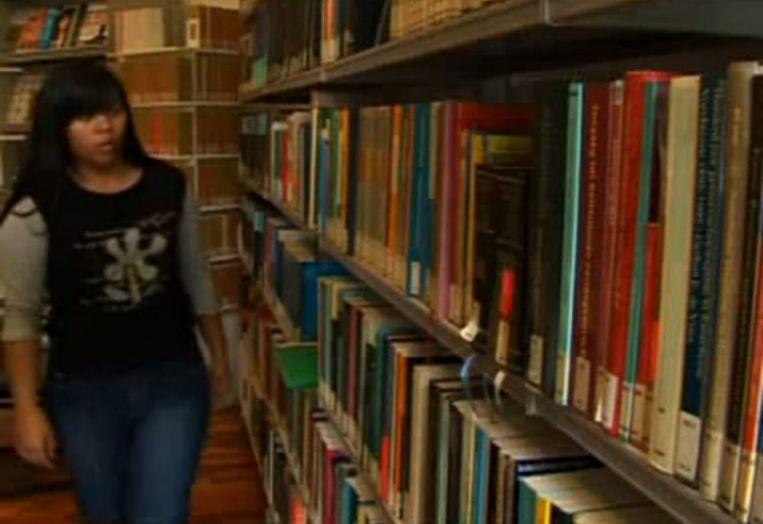 Beeld uit een video over het Erasmus Taalcentrum (ETC) in Jakarta, dat misschien moet sluiten. Beeld