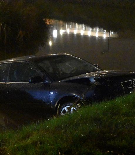 Audi gaat te water in Waddinxveen