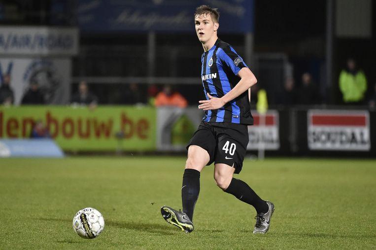 De verdediger van Club Brugge maakte woensdag tegen Westerlo zijn wederoptreden na meer dan een jaar blessureleed