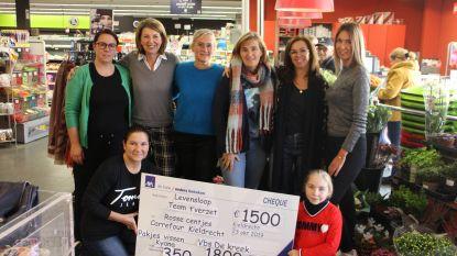 Team 't Verzet brengt mooi bedrag samen voor Levensloop