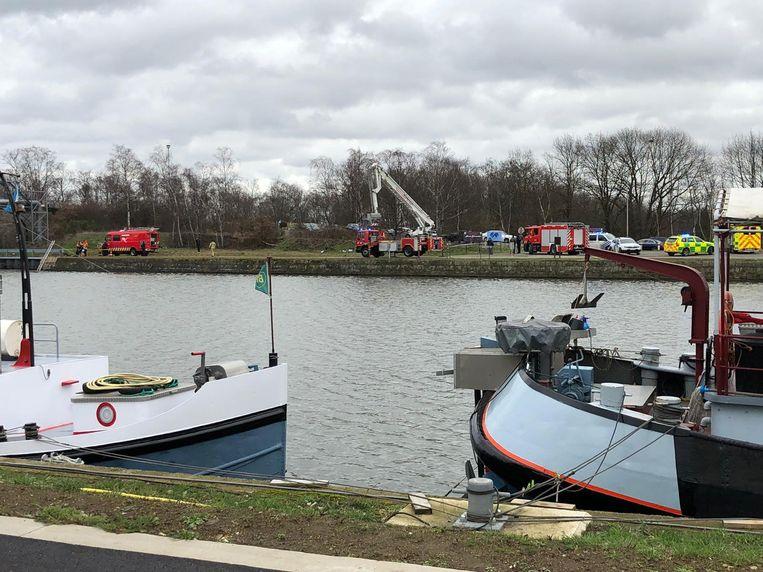 Het lichaam werd in de omgeving van het kanaal gevonden.