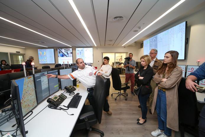De alarmcentrale van Tel Aviv in Israël werkt al met MDGo