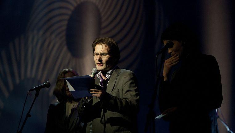 Schrijver Christiaan Weijts is een van de genomineerden voor de BNG Literatuur Prijs. Beeld ANP