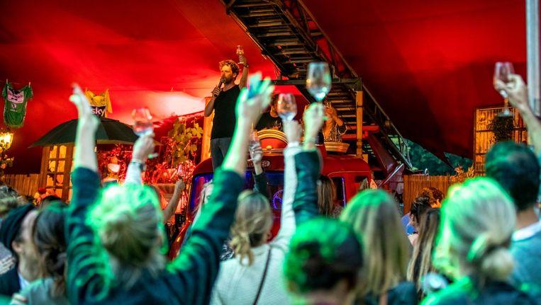 Wijn genoeg tijdens het Bacchus Festival Beeld Jorn Baars