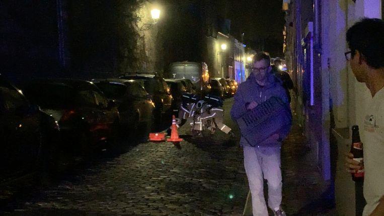 De brandweer evacueerde in totaal 31 bewoners.