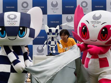Dit is de mascotte van de Spelen in Tokio