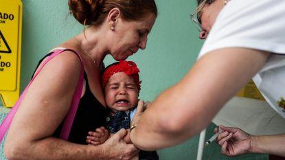 Primeur: baby krijgt vaccinatie per drone