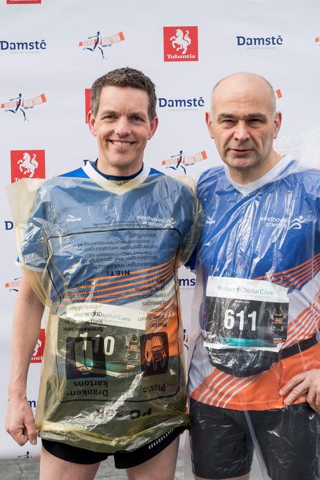 Veel bedrijventeams aan de start Marathon Enschede
