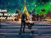 Barbecuen met dj Gerard Ekdom in zijn Morgen Winter BBQ live vanuit de Efteling
