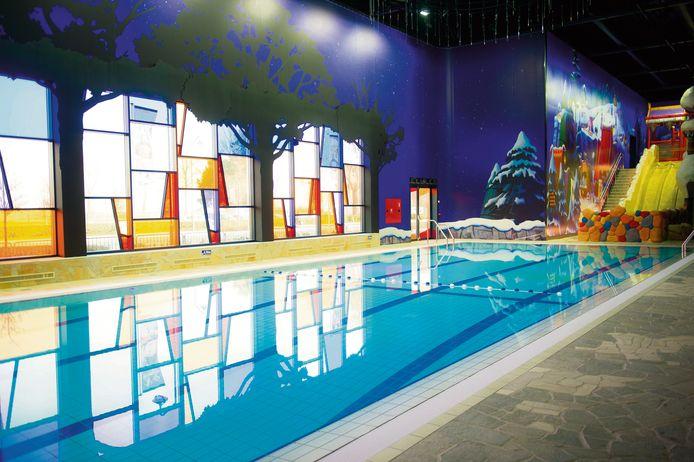Enkel dit deel is dagelijks zwemtoegankelijk van 16 tot 20 uur.